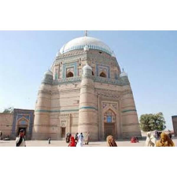 The mausoleum of Pir Shams at Multan, Pakistan